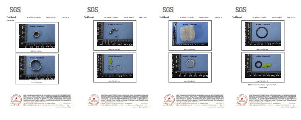 hlgs bearing sgs test rohs pops rahs